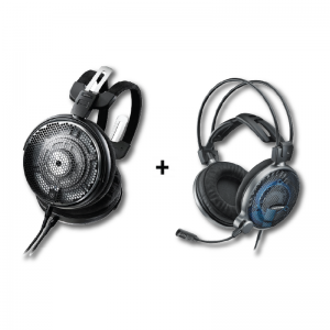 [Bundle] ATH-ADX5000 Audiophile Open-Air Dynamic Headphones + ATH-ADG1x High-Fidelity Gaming Headset