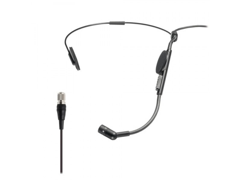 Cardioid Condenser Headworn Microphone, for A-T Wireless System