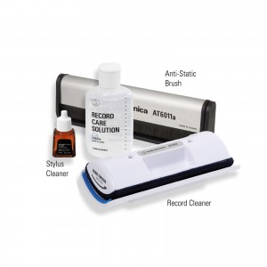Analogue Care Kit (Stylus Cleaning Fluid, Anti-Static Record Brush & Record Cleaning Kit)