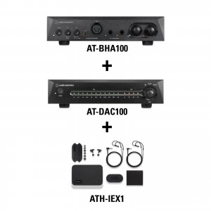 Listening Kit 4 - AT-BHA100 + AT-DAC100 + ATH-IEX1