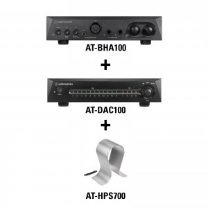 Listening Kit 5 - AT-BHA100 + AT-DAC100 + AT-HPS700