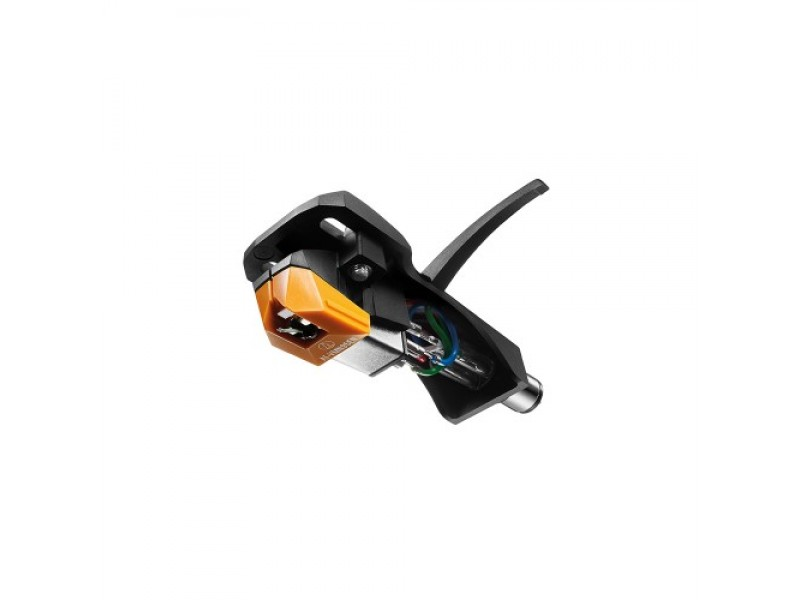 VM95 series Elliptical Nude stereo cartridge on AT-HS6