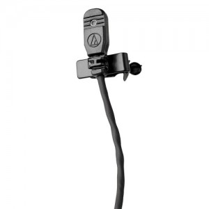 Omnidirectional Condenser Lavalier Microphone, unterminated cable