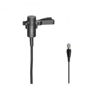 Miniature Cardioid Condenser Microphone, for A-T Wireless System
