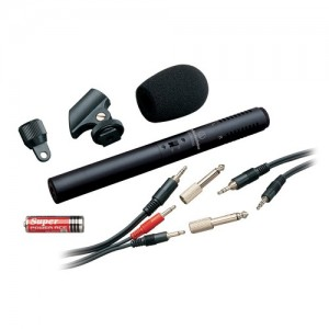 ATR6250 Stereo condenser video/recording microphone, Jack 3.5mm