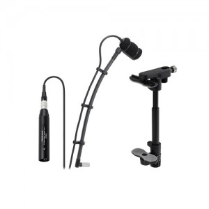 Cardioid Condenser Instrument Microphone with Guitar Mounting System (Long)