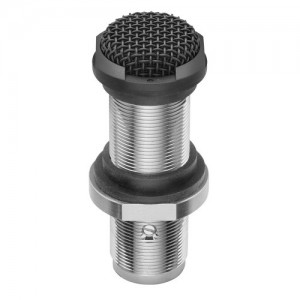 Cardioid wide range fixed charge condenser boundary microphone