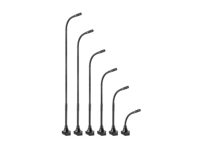 Cardioid Condenser Gooseneck Microphone with 5-Pin Flush-Mount Power Module