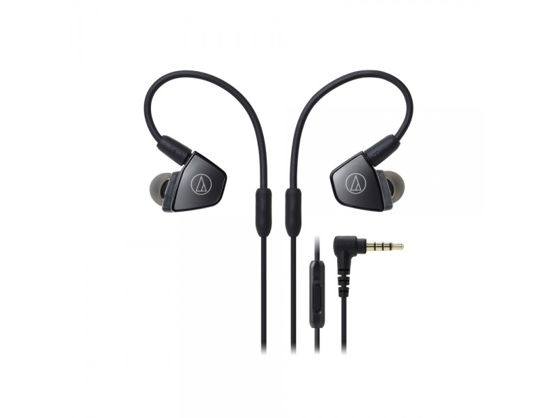 In-Ear Triple Armature Driver Headphones with In-line Mic & Control
