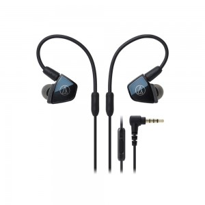 In-Ear Quad Armature Driver Headphones with In-line Mic & Control