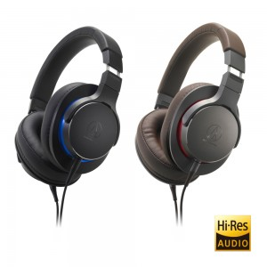 Over-Ear High-Resolution Headphones