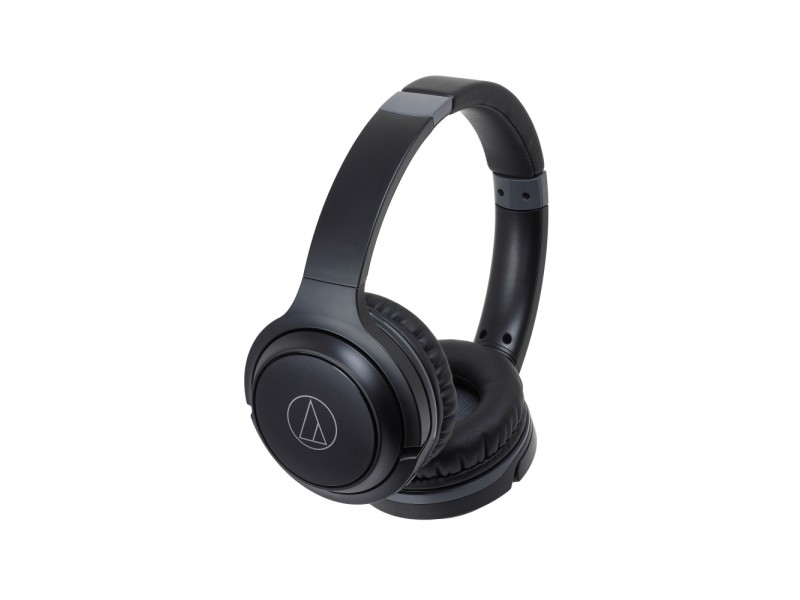 Wireless On-Ear Headphones with Built-in Mic & Controls