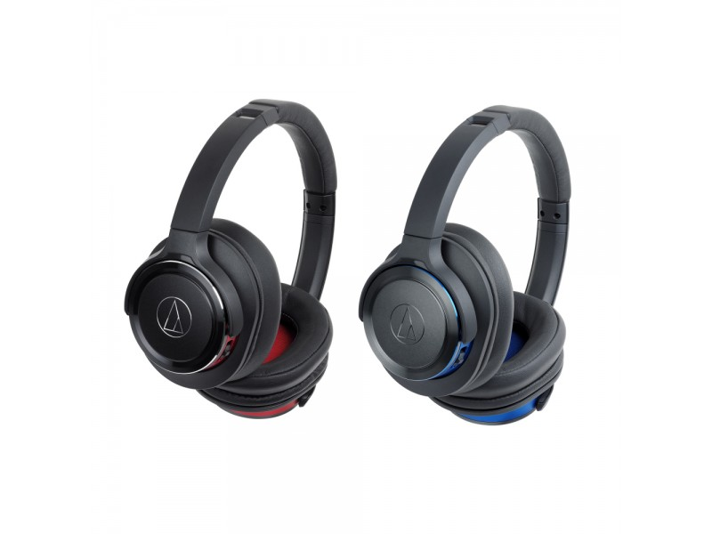 Solid Bass Wireless Over-Ear Headphones with Built-in Mic & Control
